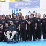 Α.Σ. Σάτζα ετήσια επίδειξη γυναικείας αυτοάμυνας  στο Θέατρο Ρεματιάς  8/6/2013