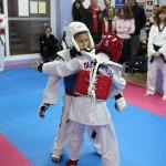 Α.Σ. Σάτζα κοινή αγωνιστική προπόνηση Tae Kwon Do 18/02/2012